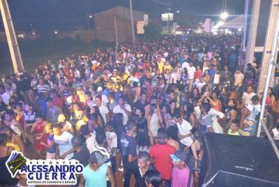 Agitação marca último dia de Carnaval na cidade de Corrente
