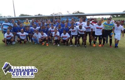 Empate marca jogo entre Atlético Goaniense e Seleção Master de Corrente