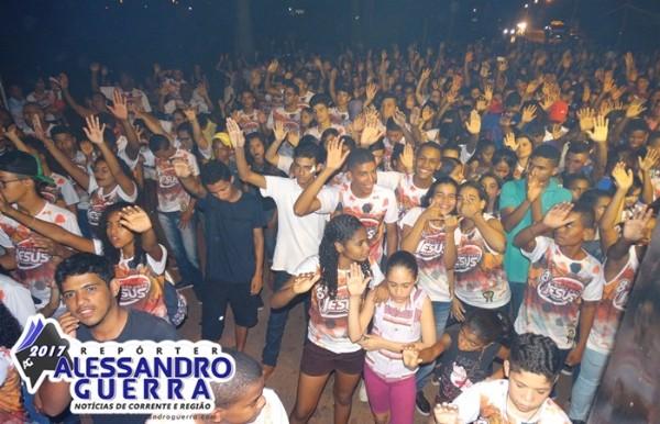 8ª Edição da Marcha para Jesus reúne multidão de fiéis em Corrente