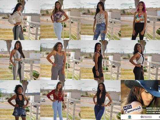 Conheça as 11 finalistas do concurso Miss ExpoCorrente