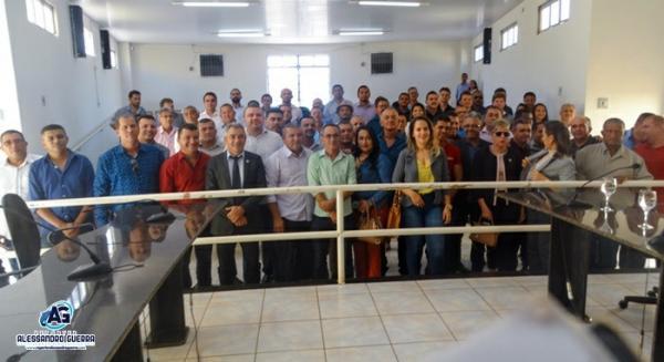 Reunião de Criação da Associação das Câmaras e Vereadores do Extremo Sul em Corrente