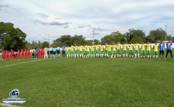 Corrente x Santa Maria estádio Paraguassu em Corrente/ Copa Oeste de seleções 2019