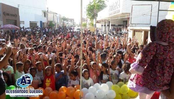 Dia das Crianças é celebrado com programação especial em Corrente