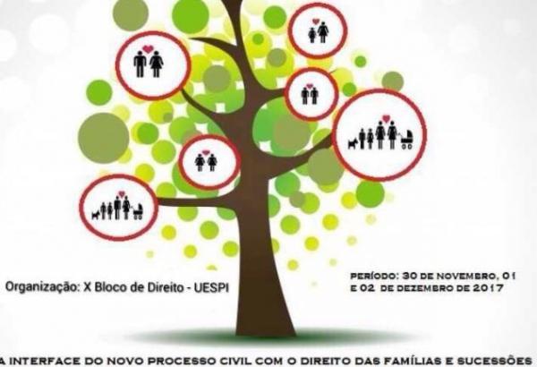 UESPI/ Corrente promove Simpósio sobre direito de família e sucessões