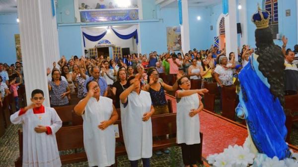 Paróquia realizou festejo em honra a Nossa Senhora da Conceição