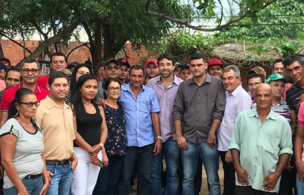Deputado tucano recebe apoio de ex-vice- prefeito e de seu grupo politico em Sebastião Barros