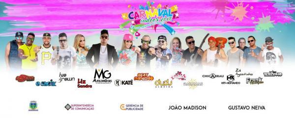 Confira programação completa do carnaval 2018 em Corrente
