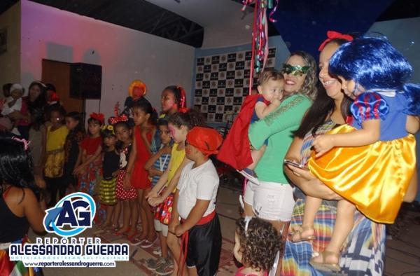1º concurso de fantasia infantil foi sucesso no carnaval de Corrente