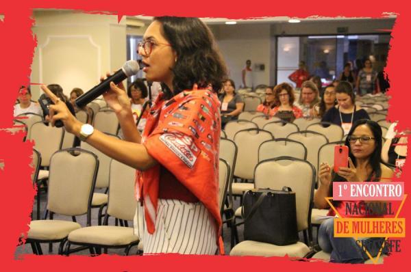 Advogada Jéssica Lima participa do 1º encontro nacional de mulheres do SINASEFE