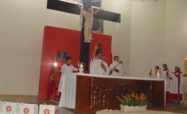Católicos comemoram Páscoa com missas neste domingo, em Corrente