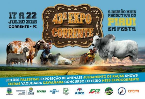 ExpoCorrente acontece de 17 a 22 de Julho em Corrente