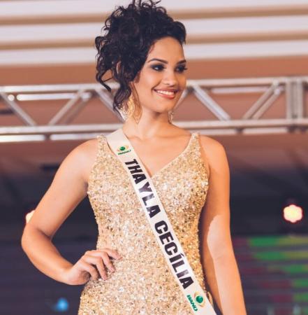 Jovem Correntina Thayla Cecilia foi finalista no Miss Piauí 2018