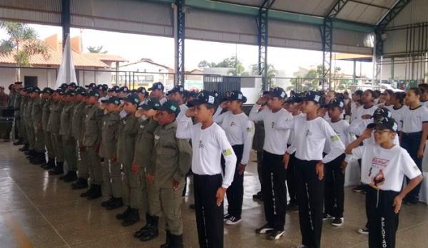 Primeira Turma do projeto Pelotão Mirim é formada em Cristalândia do Piauí