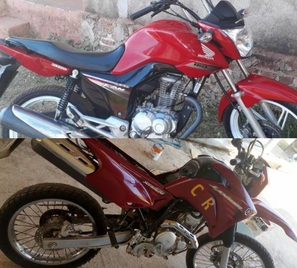 Duas motos são roubadas na noite de quinta-feira (28) em Corrente