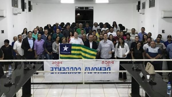 PROS lança tenente Mário como pré- candidato a deputado estadual