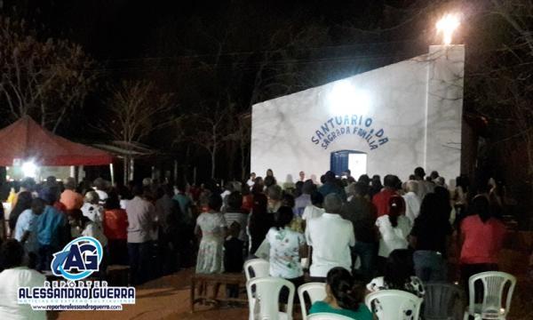 Comunidade Pedra Furada celebrou festejos em louvor a sagrada família em Corrente