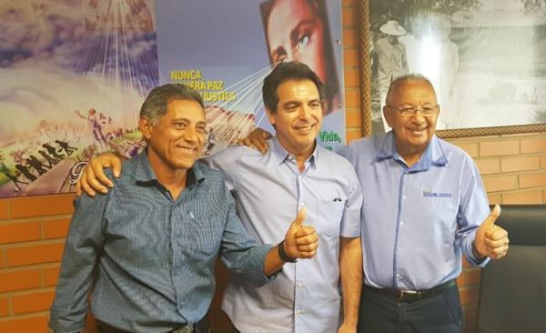 Candidato a deputado federal Delegado Paulo Nogueira declara apoio a Dr. Pessoa