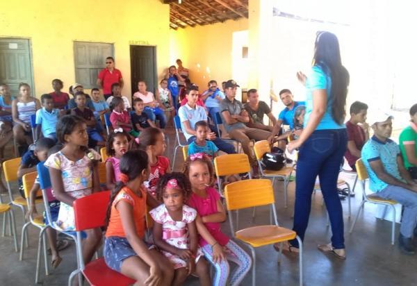 Ação social itinerante beneficia mais uma comunidade em Cristalândia do Piauí