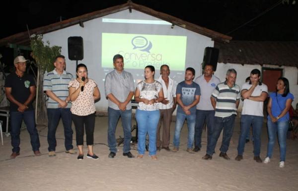 Ações do Governo Municipal beneficiam comunidade Pindaiba em Corrente