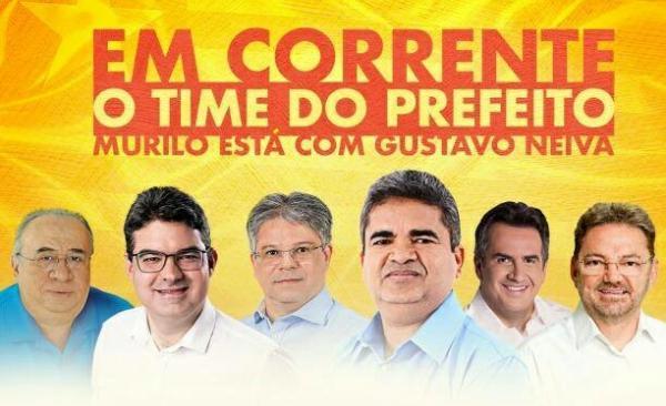 Prefeito Murilo recebe seus candidatos em ato politico nesta quinta-feira (27), em Corrente