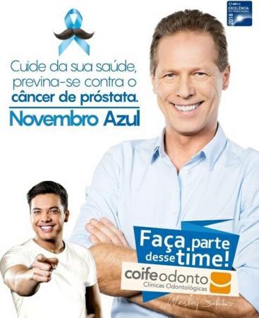 Coife Odonto apoia a campanha 'Novembro Azul'