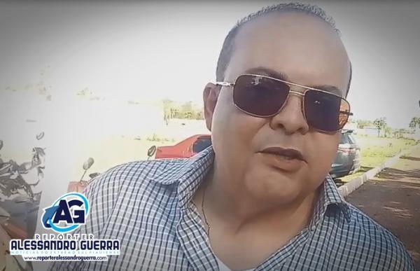 Ibaneis Rocha concede entrevista ao Repórter Alessandro Guerra; veja vídeo