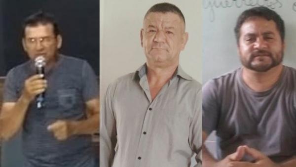 Três candidatos na disputa pela presidência do SINPESPI