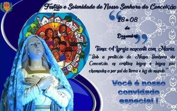 Confira programação completa dos Festejos de Nossa Senhora da Conceição