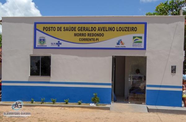 Prefeitura de Corrente entrega mais 2 unidades de saúde reformadas