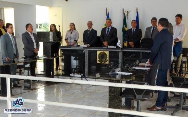 Câmara Municipal de Corrente inicia ano legislativo 2019