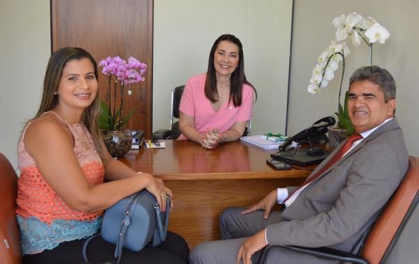 Prefeito visita parlamentares em Brasília em busca de recursos para Corrente