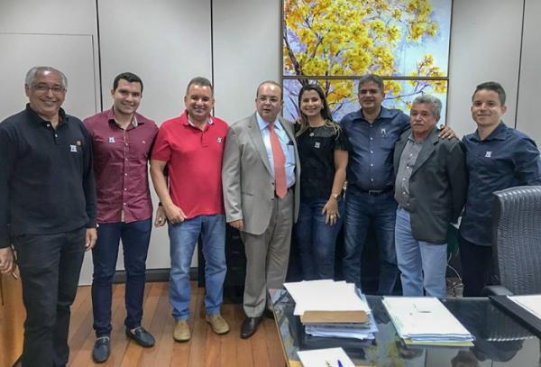 Murilo Mascarenhas é recebido pelo governador do DF, Ibaneis Rocha