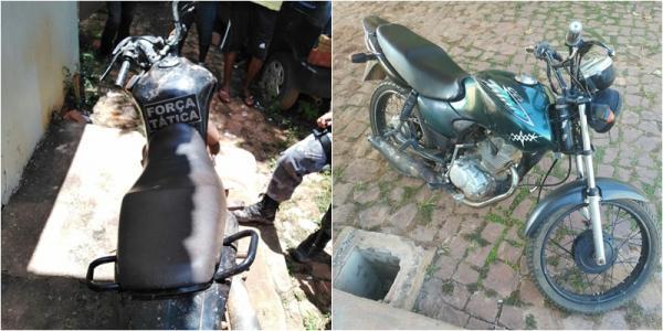 PM recupera motos roubadas durante vaquejada em Corrente
