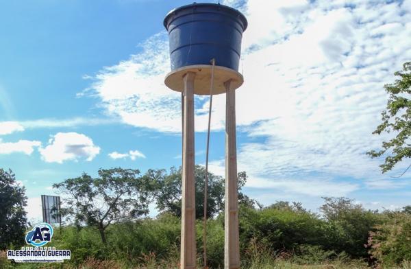 Projeto 'Água Corrente' entrega sistema de abastecimento de água em Riacho Grande