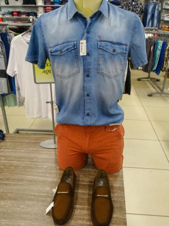 Moda masculina é no Armazém Paraíba de Corrente