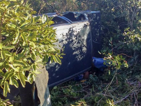 Acidente de trânsito e homicídio deixa dois mortos na BR- 135, em São Gonçalo do Gurguéia