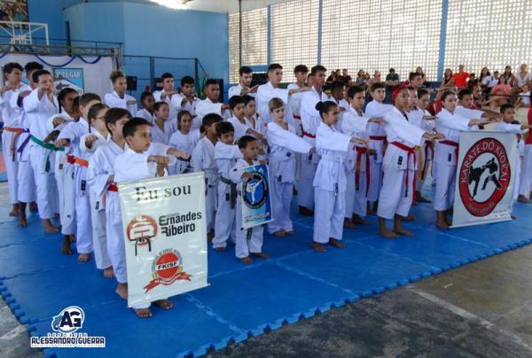 Corrente sediou o 10º Campeonato Sul Piauiense de Karatê no fim de semana