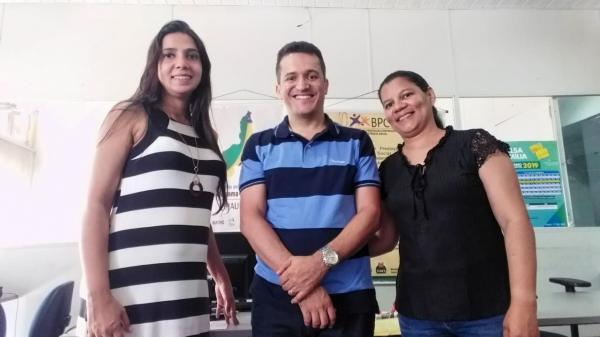 Secretária de Trabalho e Cidadania visita Secretaria Estadual de Assistência Social