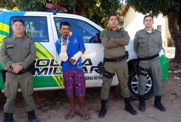 PM prende foragido da Justiça em Monte Alegre do Piauí