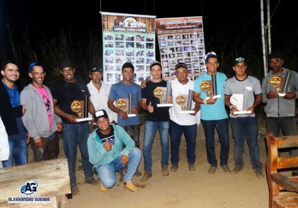 Disputas e premiação marcam o encerramento da Vaquejada de Pitombas