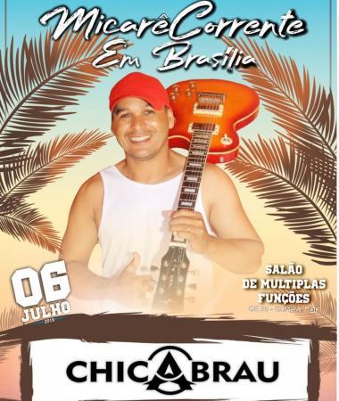 'Micarê Corrente' em Brasília, acontece neste sábado, 6