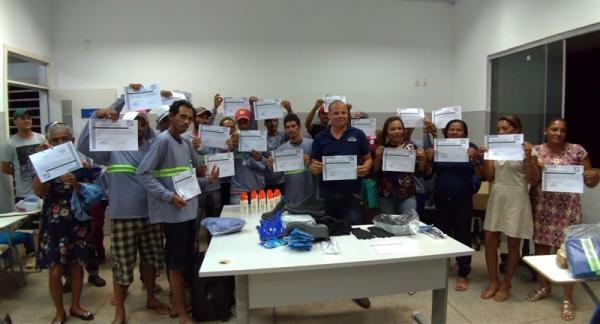 Empresa Sertão promove capacitação aos colaboradores sobre Segurança no Trabalho