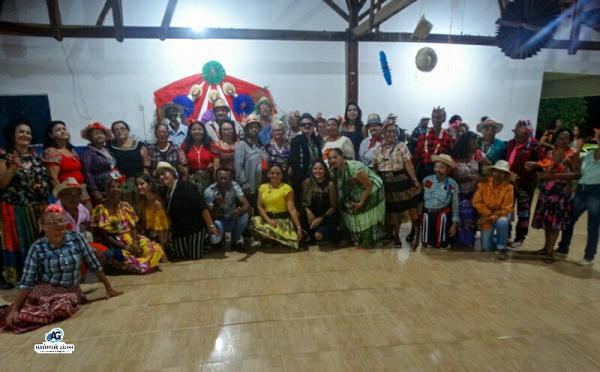"""Ação Social realiza """"Arraiá dos Idosos"""" em Corrente"""