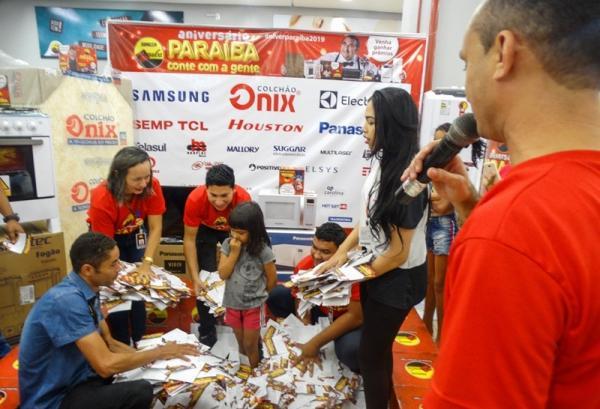 Paraíba realiza segundo sorteio da campanha de aniversário