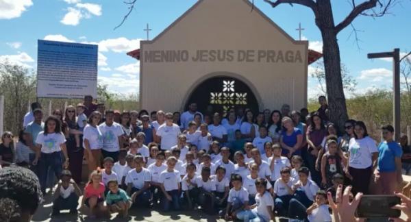 Projeto social inaugura Capela e parque infantil em Cristalândia do Piauí