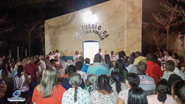 Tríduo da Sagrada Família é celebrado na comunidade Pedra Furada