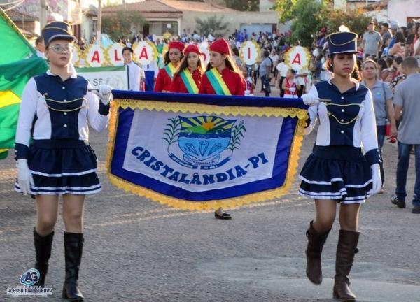 Prefeitura de Cristalândia celebra 7 de setembro com desfile Cívico