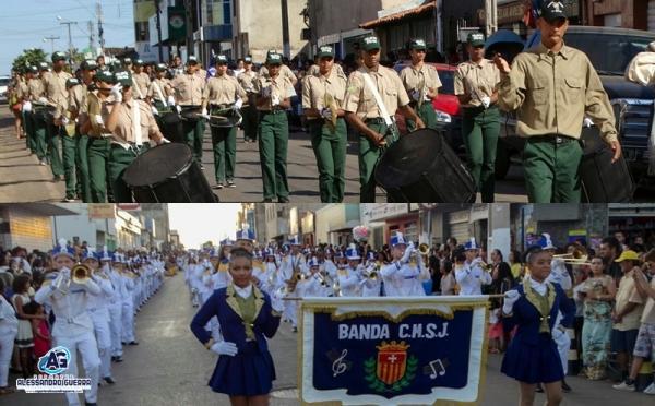 Desfile marca comemoração do Dia da Independência em Corrente