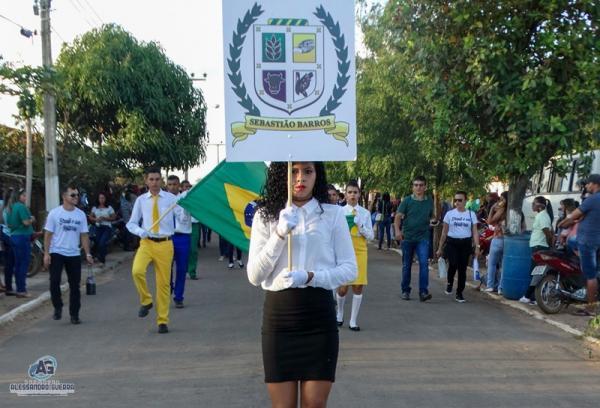 Prefeitura de Sebastião Barros comemora Independência do Brasil com desfile cívico