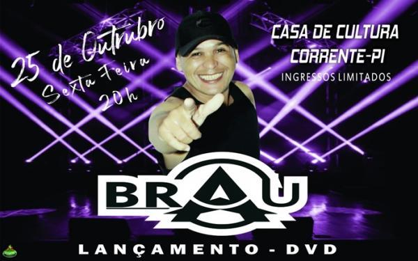 Charles Brau lança seu DVD  ao vivo em Corrente, na sexta 25